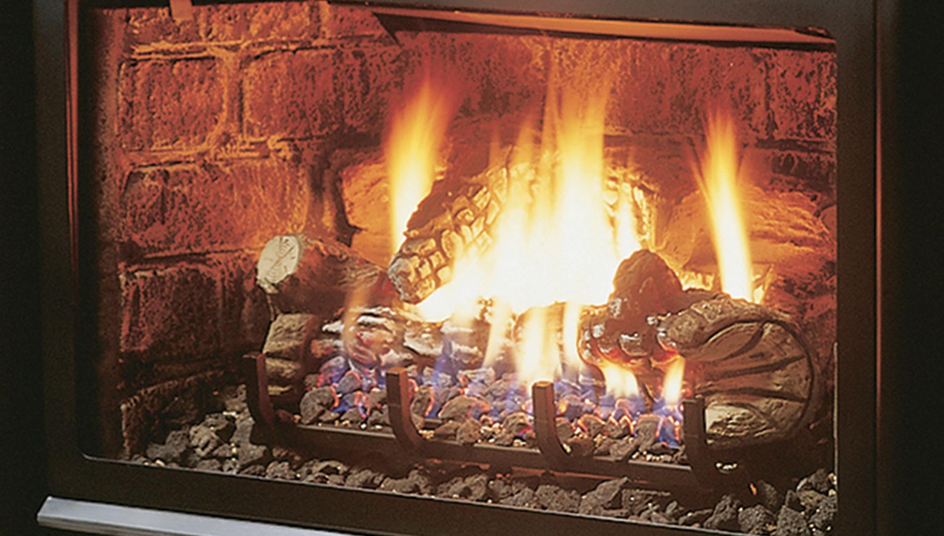 LOGF35 Split Oak Log Set